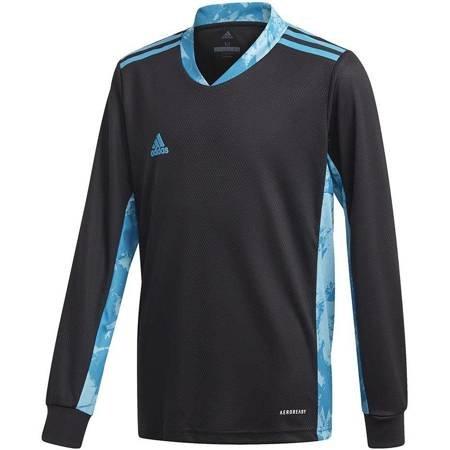 Bluza bramkarska dla dzieci adidas AdiPro 20 Goalkeeper Jersey Youth Longsleeve czarno-niebieska FI4200