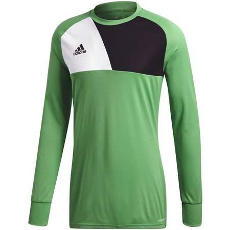 Bluza bramkarska dla dzieci adidas Assita 17 GK JUNIOR zielona AZ5400/AZ5406