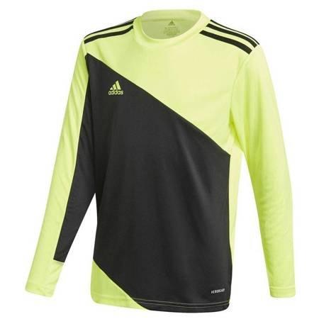 Bluza bramkarska dla dzieci adidas Squadra 21 Goalkeeper Jersey Youth czarno-limonkowa GN5794