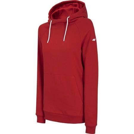 Bluza damska 4F czerwona NOSH4 BLD002 62S