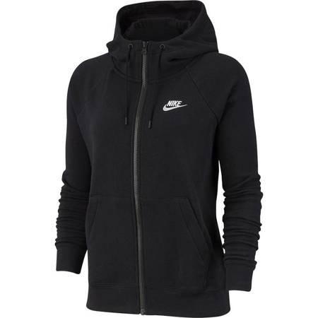 Bluza damska Nike Essentials Hoodie FZ FLC czarna BV4122 010