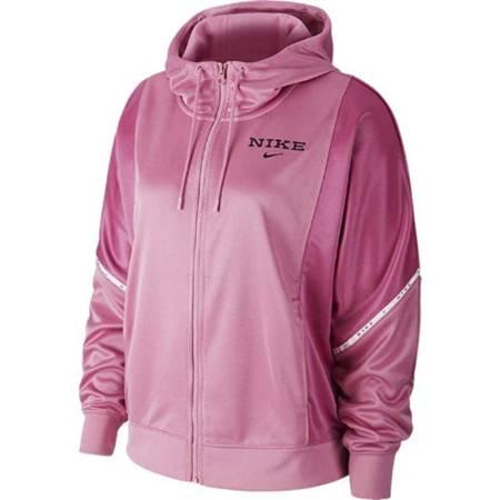 Bluza damska Nike Full-Zip Hooded Jacket różowa CJ3677 693