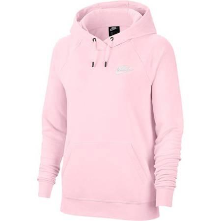 Bluza damska Nike NSW Essential Flecee Po Hoodie różowa BV4124 632