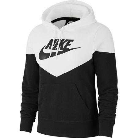 Bluza damska Nike W HRTG Hoodie FLC czarna AR2509 010