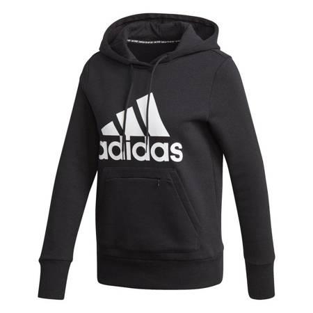 Bluza damska adidas Badge of Sport Overhead Fleece Hoodie czarna GC6915
