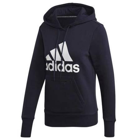 Bluza damska adidas Badge of Sport Overhead Fleece Hoodie granatowa GC6917