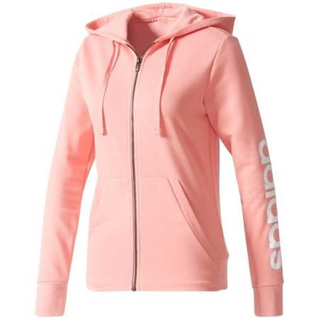 Bluza damska adidas Essentials Linear FZ HD jasny róż BR2577