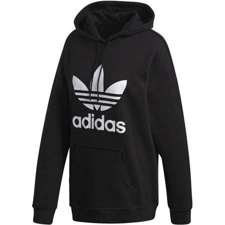 Bluza damska adidas Trefoil Hoodie czarna FM3307