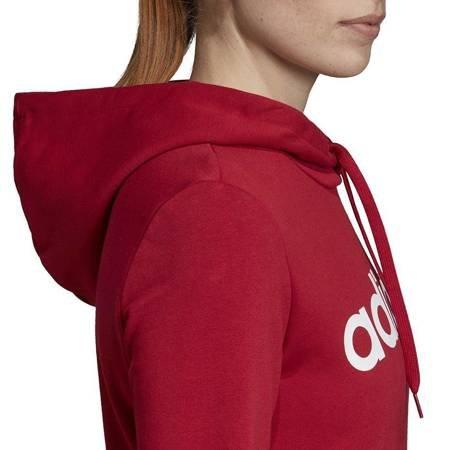 Bluza damska adidas W Essentials Linear OH HD czerwona EI0653