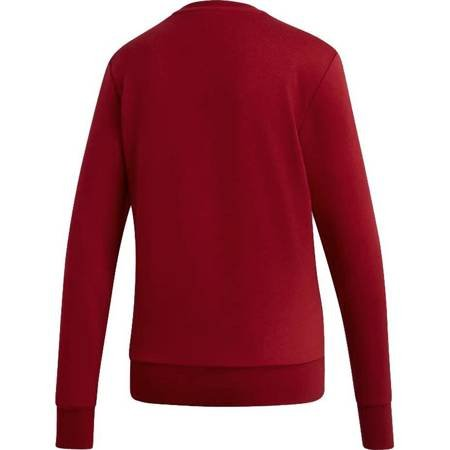 Bluza damska adidas W Essentials Linear Sweat czerwona EI0677