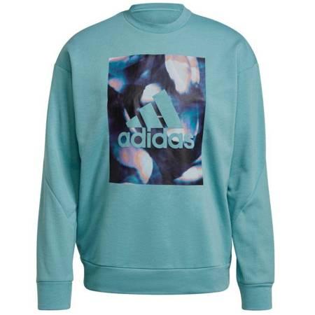 Bluza damska adidas uforu Sweatshirt niebieska GS3893