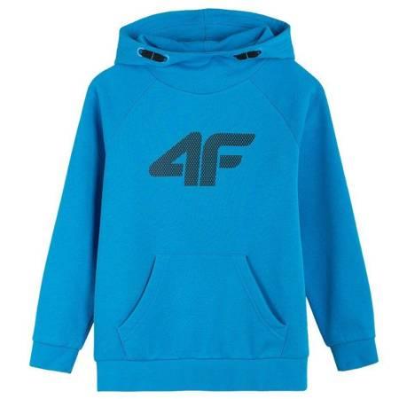 Bluza dla chłopca 4F niebieska HJZ21 JBLM001C 33S