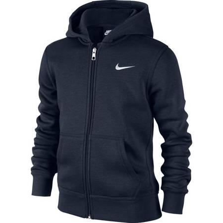 Bluza dla dzieci Nike B Hoodie YA76 BF FZ JUNIOR 619069 451