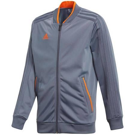 Bluza dla dzieci adidas Condivo 18 Polyester Jacket JUNIOR szara CF4333