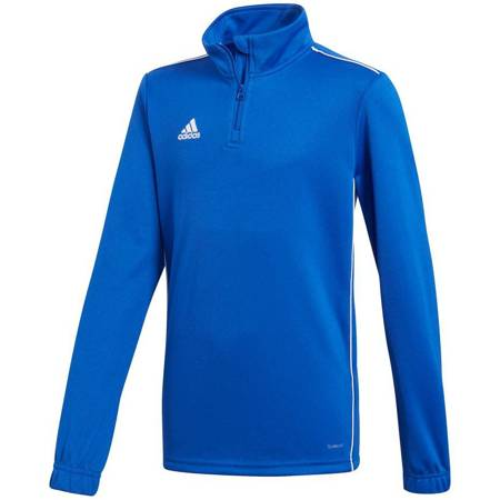 Bluza dla dzieci adidas Core 18 Training Top JUNIOR niebieska CV4140