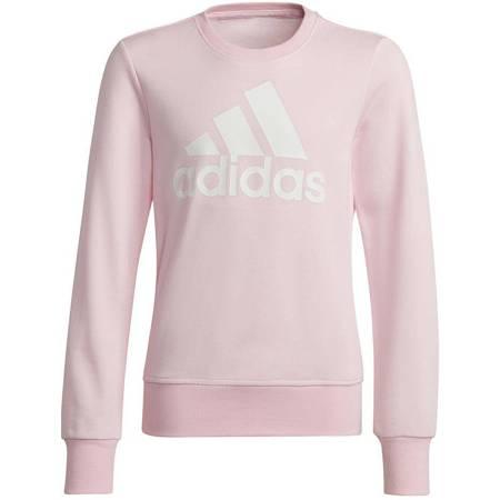 Bluza dla dzieci adidas Essentials Big Logo Sweatshirt różowa GS4287