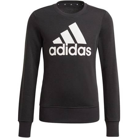 Bluza dla dzieci adidas Essentials Big Logo Sweattshirt czarna GP0040