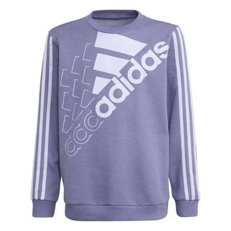 Bluza dla dzieci adidas Essentials Logo Sweatshirt fioletowa GS2181