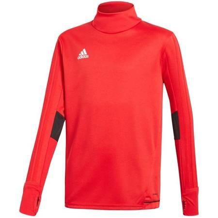 Bluza dla dzieci adidas Tiro 17 Training Top JUNIOR czerwona BQ2754