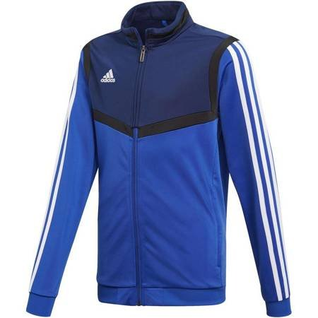 Bluza dla dzieci adidas Tiro 19 Polyester Jacket JUNIOR niebieska DT5789
