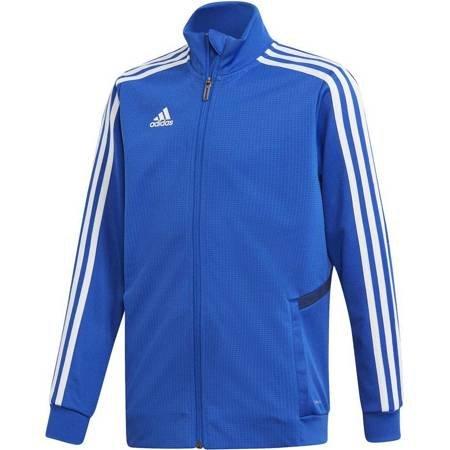 Bluza dla dzieci adidas Tiro 19 Training Jacket JUNIOR niebieska DT5274