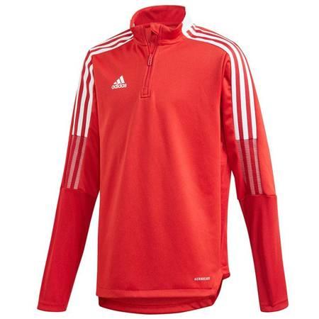 Bluza dla dzieci adidas Tiro 21 Training Top Youth czerwona GM7323