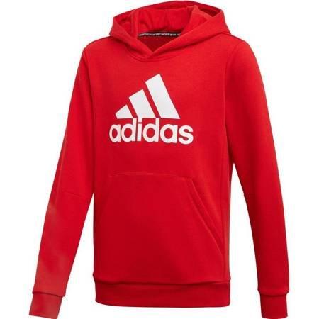 Bluza dla dzieci adidas YB MH Bos PO czerwona ED6494