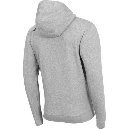 Bluza męska 4F chłodny jasny szary melanż H4Z19 BLM073 27M