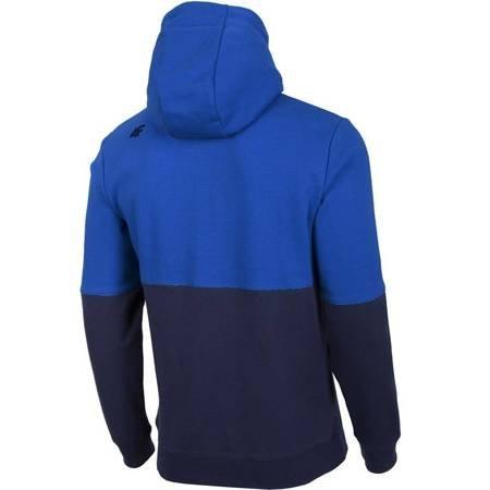 Bluza męska 4F niebieska H4Z19 BLM004 33S