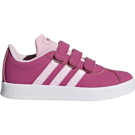 Buty dla dzieci adidas VL Court 2.0 CMF C różowe F36394
