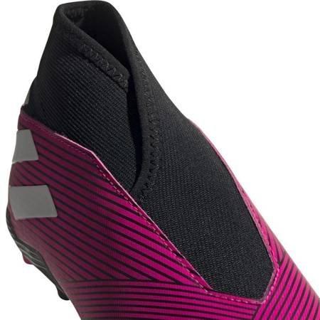 Buty piłkarskie adidas Nemeziz 19.3 LL FG JR różowe EF8848