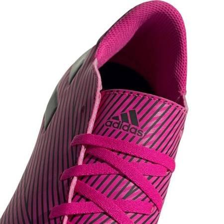 Buty piłkarskie adidas Nemeziz 19.4 FxG różowe F34392