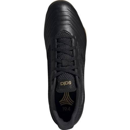 Buty piłkarskie adidas Predator 19.4 IN Sala czarne F35633