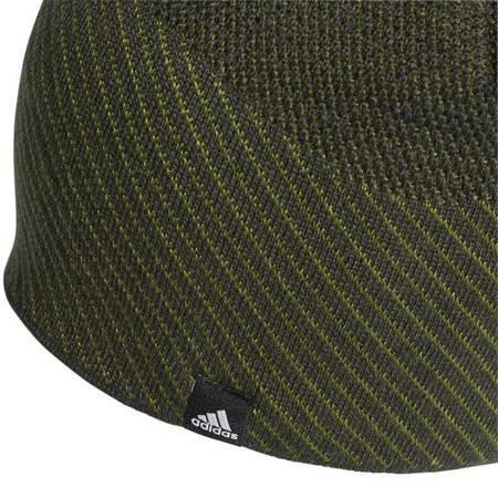 Czapka męska adidas Climaheat Beanie Full OSFM zielona DZ6196