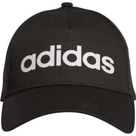 Czapka z daszkiem dla dzieci adidas Daily Cap OSFC czarna DM6178