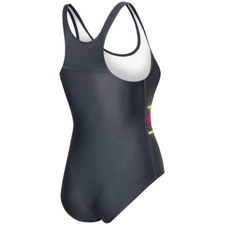 Kostium kąpielowy damski Aqua-Speed Stella szaro-różowy kol.331