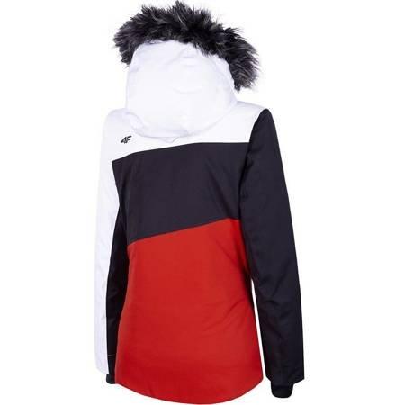 Kurtka narciarska damska 4F czerwona H4Z19 KUDN004 62S