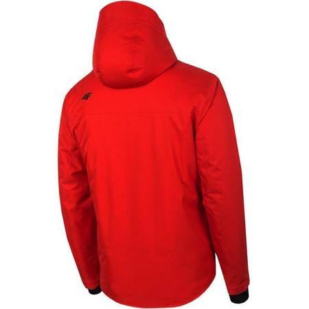 Kurtka narciarska męska 4F czerwona H4Z19 KUMN007 62S