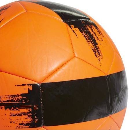 Piłka nożna adidas EPP II pomarańczowa czarna DY2513