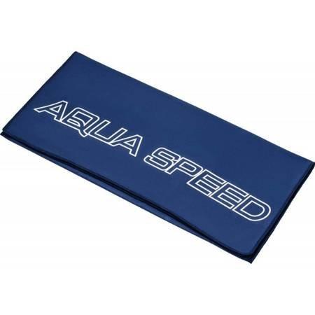 Ręcznik Aqua-speed Dry Flat 200g 70x140 granatowy 10/155