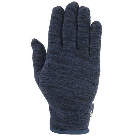 Rękawiczki zimowe 4F granat melanż H4Z19 REU065 31M