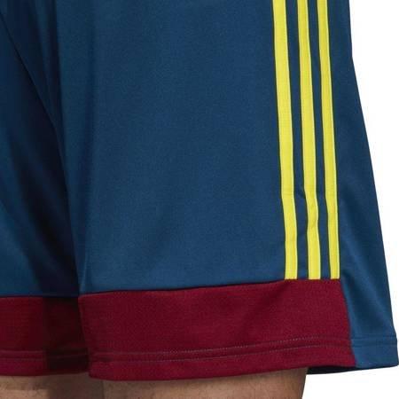 Spodenki dla dzieci adidas Tastigo 19 Shorts JUNIOR niebiesko-bordowo-żółte DU4411