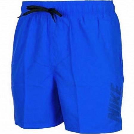 Spodenki kąpielowe męskie Nike Logo Solid niebieskie NESS9504 416