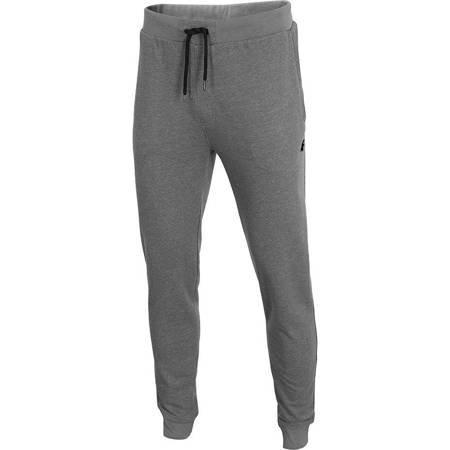 Spodnie męskie 4F średni szary melanż H4Z19 SPMD002 24M