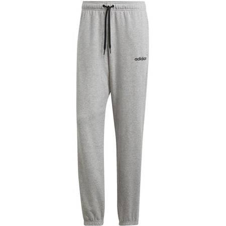 Spodnie męskie adidas Essentials Plain S Pant FT szare DQ3059